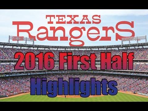 Texas Rangers: 2016 First Half Highlights