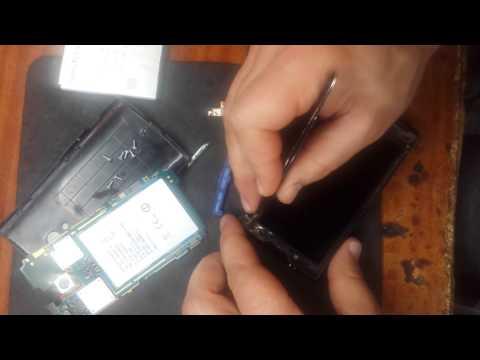 Sony Ericsson Xperia X10 замена тачскрина