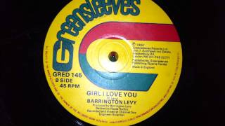 Barrington Levy - Girl I Love You