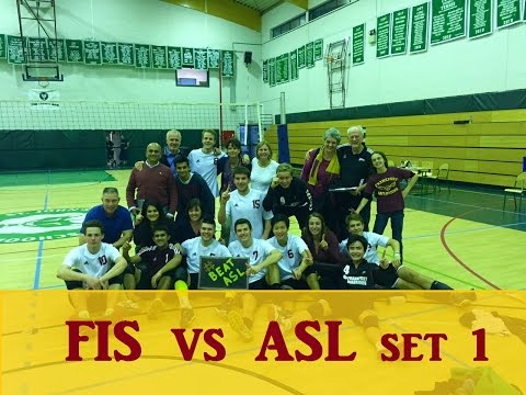 ISSTs 2015 FIS vs ASL Set 1