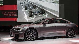 The new Audi A6 World Premiere at Geneva Motor Show 2018