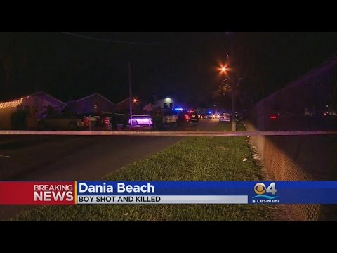 Child Killed In Dania Beach Shooting