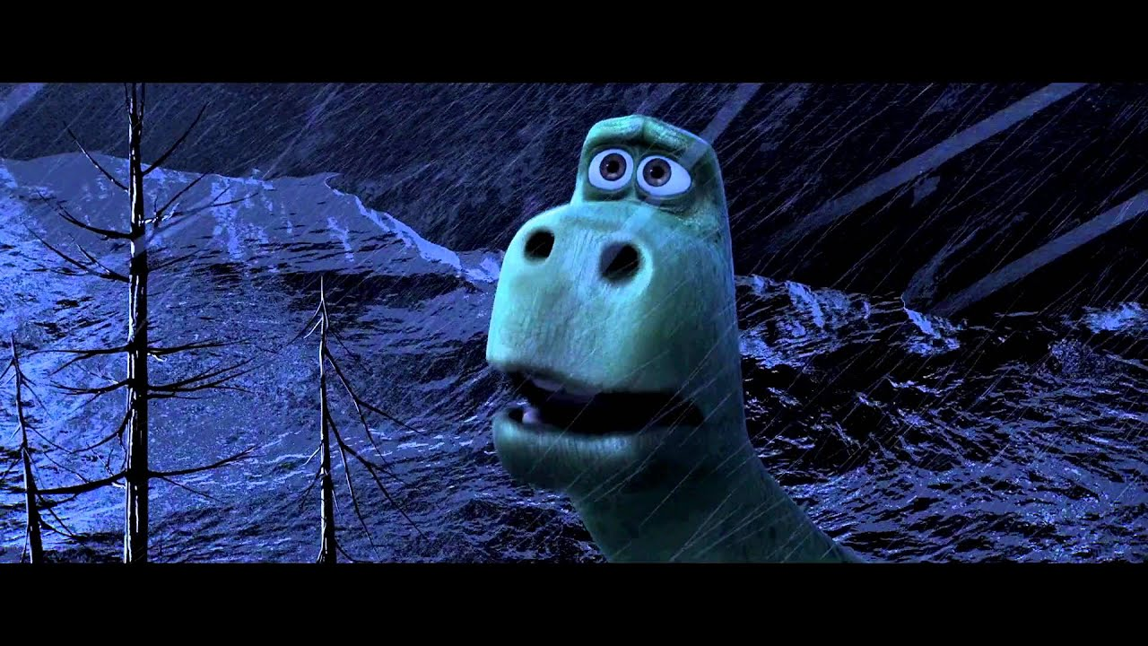 the good dinosaur flashback storm scene youtube