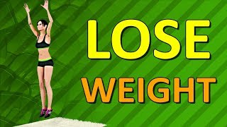 Lose Weight In One Month - Intense Fat Burn Workout At Home