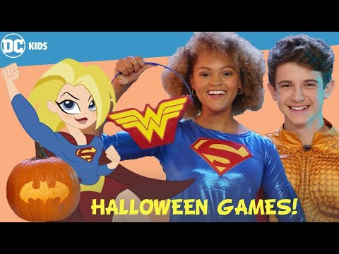 #StayHome Halloween Party Challenges! | DC Kids Show