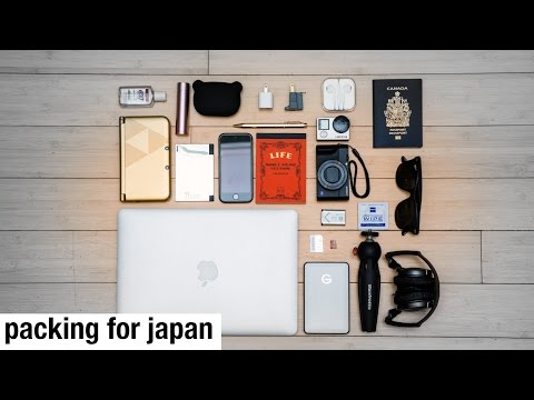 Packing For Japan! Top 10 Tech and Gear (more like 20) Things I'm bringing!