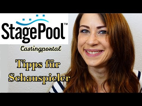 STAGEPOOL- Schauspieljob & Casting// Schauspieler Werden   Film Job Bekommen