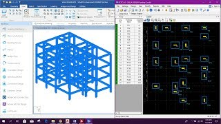 STAAD ADVANCED CONCRETE DESIGN-REAL PROJECT DESIGN, DRAWING, BBS, BOQ