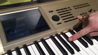 Korg Kronos Gold And 3 1 Operating System