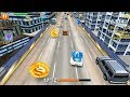 """On The Run - Speed Car Traffic Racer Games """"Men At Work"""" Android Gameplay FHD #3"""