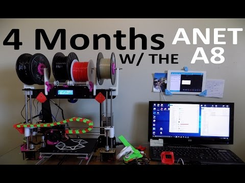 Anet A8 After 4 Months. ULTIMATE MODs LIST