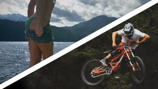 Repeat youtube video People are Awesome - Extreme Mountain Biking Video Mix 2013 (HD)