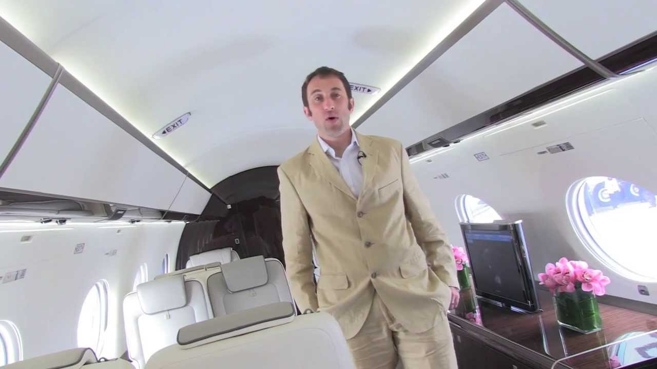 Gulfstream g650 at the singapore airshow youtube for Gulfstream v bedroom