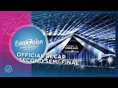 OFFICIAL RECAP: The second Semi-Final of the 2019 Eurovision Song Contest