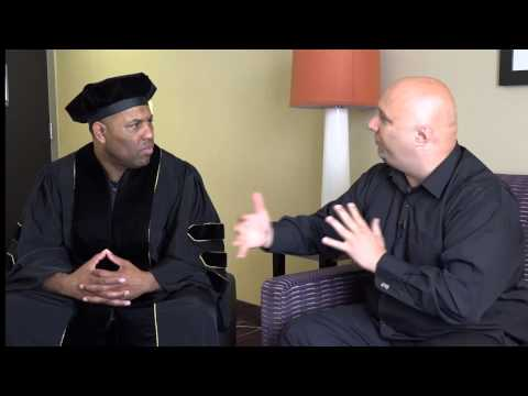 Dr Eric Thomas PH.D...ET's VERY FIRST Interview After he Graduated!