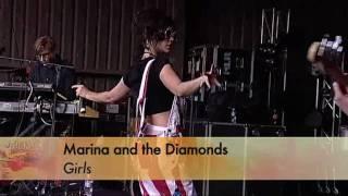 (HD) Marina and the Diamonds - Girls (Falls Festival 29/12/2010)