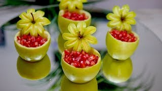 CREATIVE FRUIT IDEAS | Food decoration