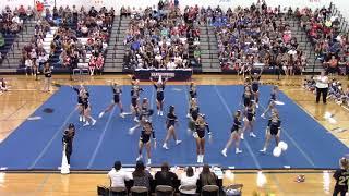 James Wood High School at Harrisonburg Blue Streak Cheerleading Invitational 2019
