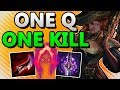 ONE Q = ONE KILL!! DARK HARVEST MISS FORTUNE ADC!! - League of Legends