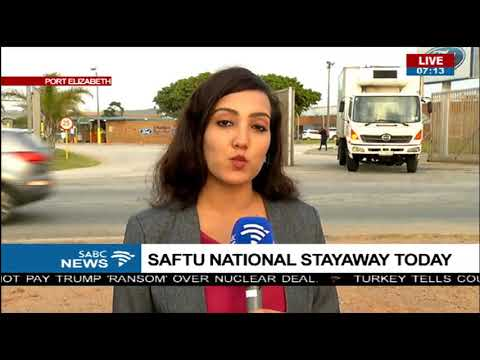 SAFTU National Stayaway - Port Elizabeth