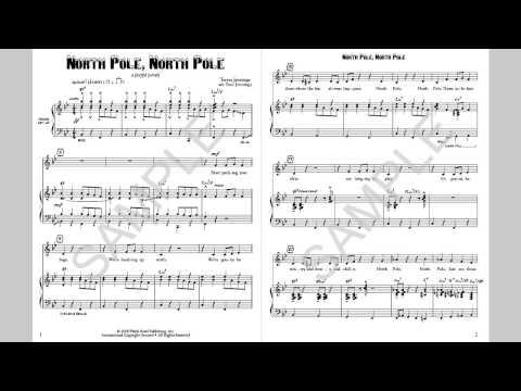 North Pole, North Pole - MusicK8.com Singles Reproducible Kit