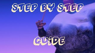 Getting Over It Guide - Step by Step walkthrough on how to beat it!
