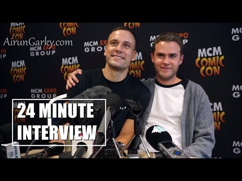Agents of SHIELD 24 Minute Interview Iain de Caestecker & Nick Blood