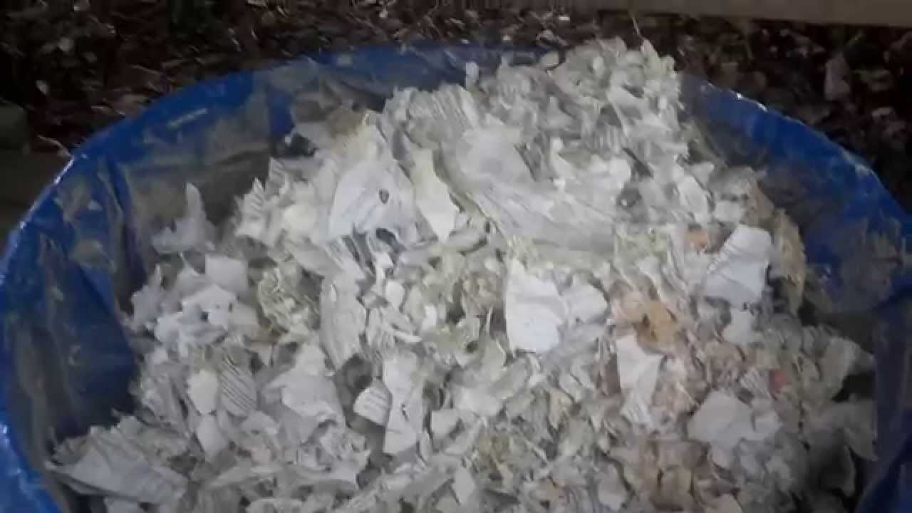 Used Leaf Shredder