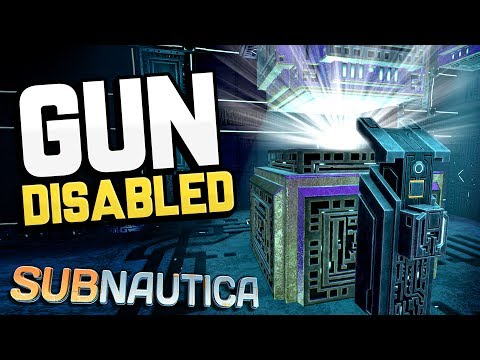 Subnautica - NEW GUN POWER DOWN SEQUENCE! + Cure Cinematic & Carar Story- Subnautica Gameplay Update