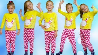 Five Little Babies Jumping on the bed song,  nursery rhyme for Toddlers, baby songs