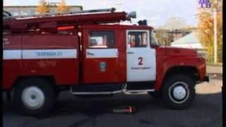 В Анжеро-Судженске произошел пожар в доме на улице Камышинской(, 2015-09-28T12:47:18.000Z)