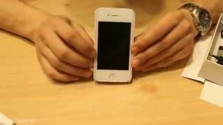 Обзор электрошокера IPHONE 4S (Купить шокер Айфон, шокер в виде мобильного телефона)