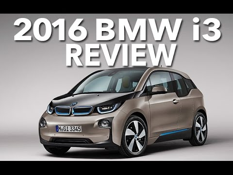Electric Or Eccentric 2016 Bmw I3 Review And Test Drive Youtube