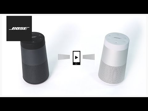 Bose SoundLink Revolve - Party and Stereo Modes
