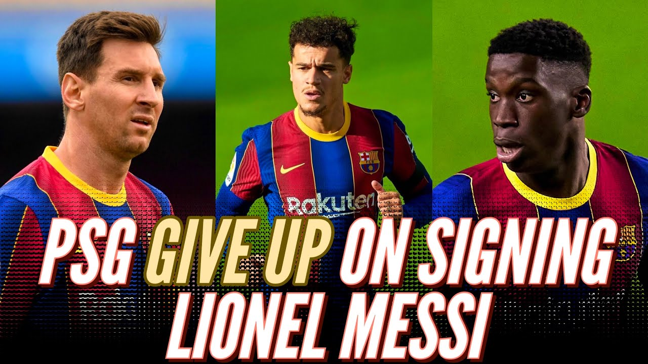 Download PSG GIVE UP on Signing Lionel Messi: Ilaix Moriba's Scheduled Meeting   Alejandro Balde Latest