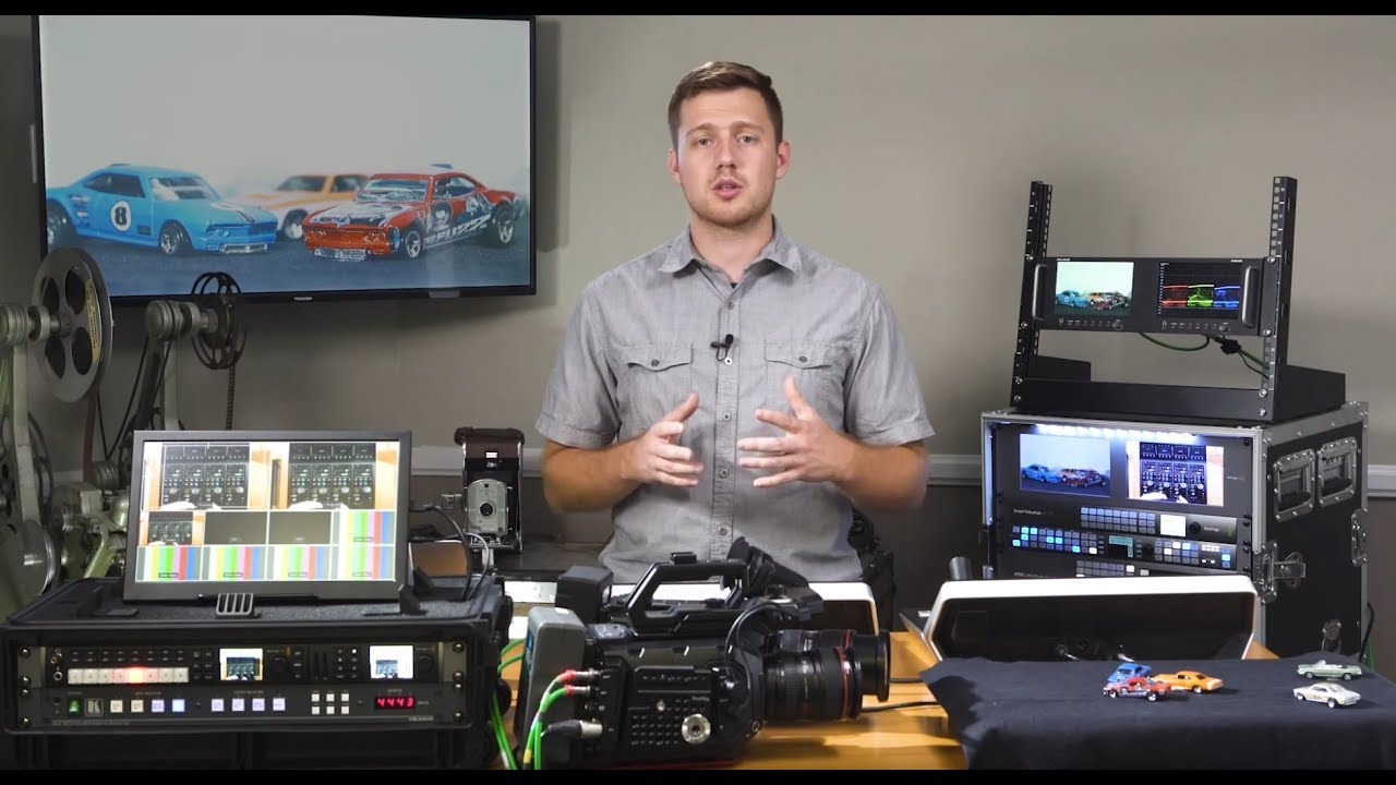 Hands On Walkthrough Of Blackmagic Design Atem Camera Control Panel What Do All The Buttons Do Youtube