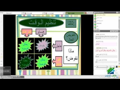 إدارة الوقت  أكاديمية الدارين   د/ عمرو الجرشة
