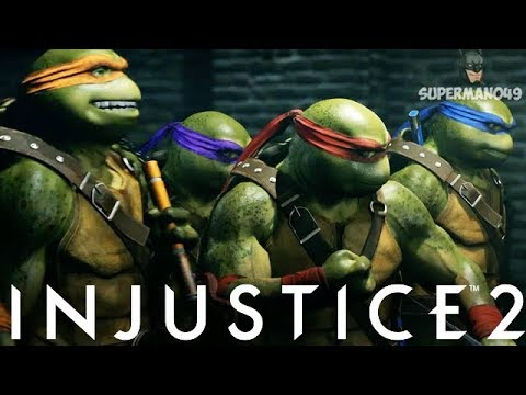 Thumbnail: Injustice 2: Ninja Turtles & Enchantress Honest Thoughts! - Injustice 2 Fighter Pack 3 DLC