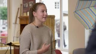 Bergader Privatkäserei im InnovateTheAlps Interview by Alpioneers mit Magdalena Daxenberger