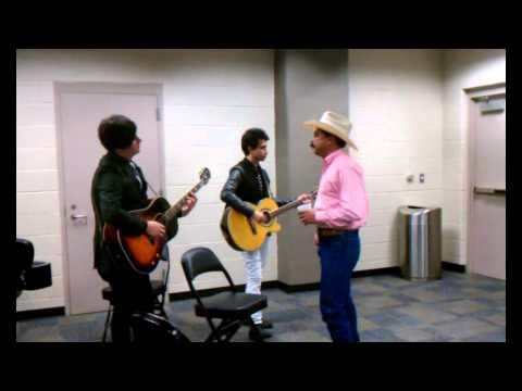 Emilio Navaira @ The 2012 Tejano Music Awards (backstage)