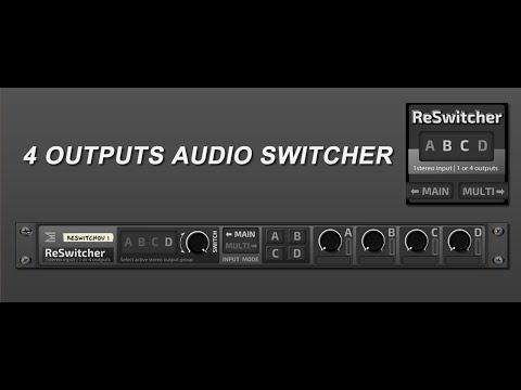ReSwitcher [rack extension] Audio Selector