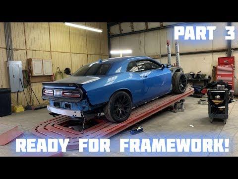 Rebuilding a Wrecked 2016 Dodge Hellcat Part 3