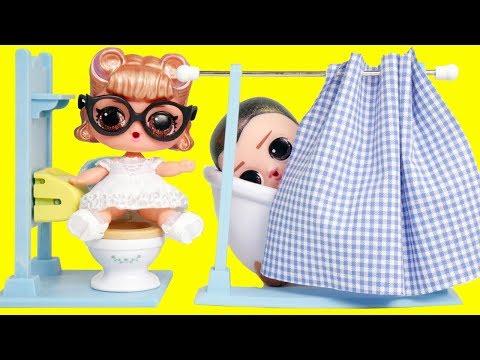 LOL Surprise Dolls Custom Baby Get Married in Ooh La La Store | Toy Egg Videos