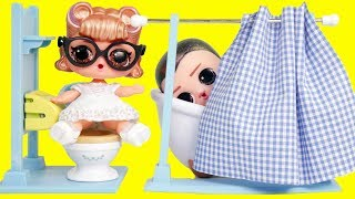 lol-surprise-dolls-custom-baby-get-married-in-ooh-la-la-store-toy-egg-videos