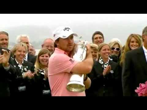 Graeme McDowell - Wins Pebble Beach US Open 2010
