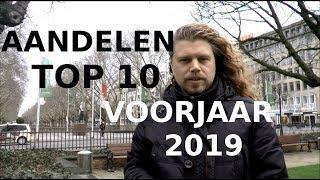 Aandelen top 10 voorjaar 2019