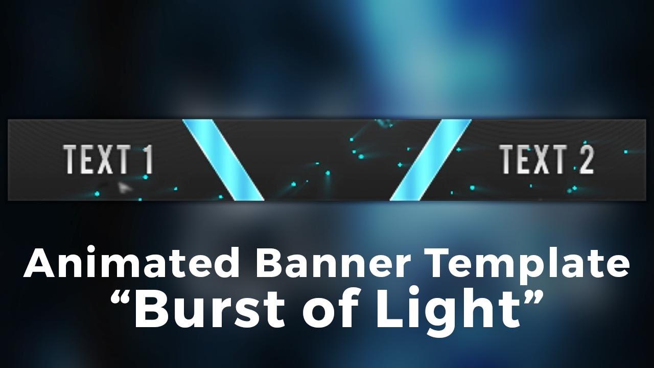 Minecraft Server Banner Template (GIF) - \