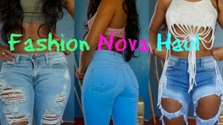 Fashion Nova Clothing  Haul