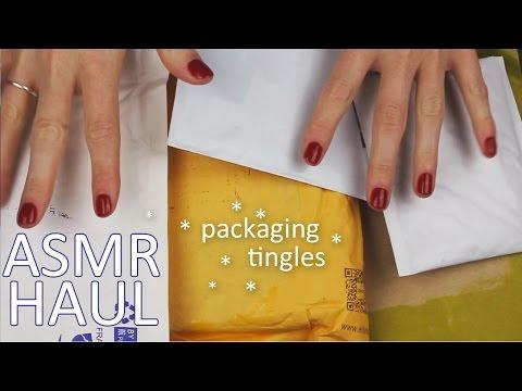 ASMR Nail art HAUL (🎧 soft spoken, packaging sounds, crinkles, Ali Express)