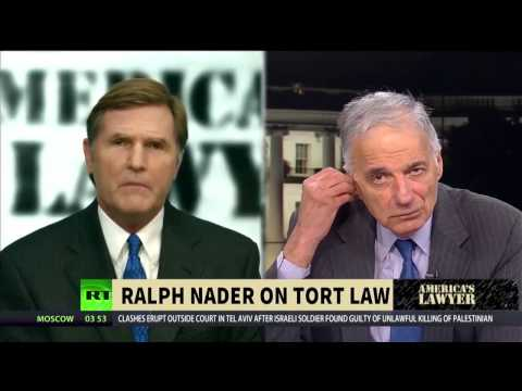 Ralph Nader on Why There are not Enough Lawsuits in America